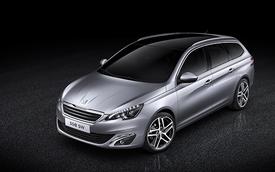 Peugeot ra mắt 308 SW nhẹ hơn và rộng rãi hơn
